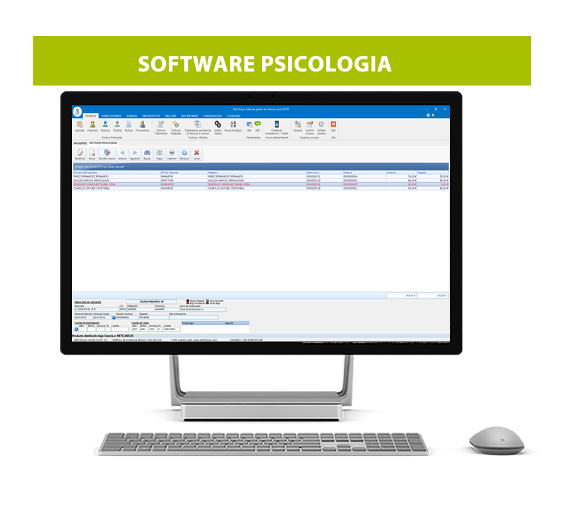Software para clinicas de Psicologia