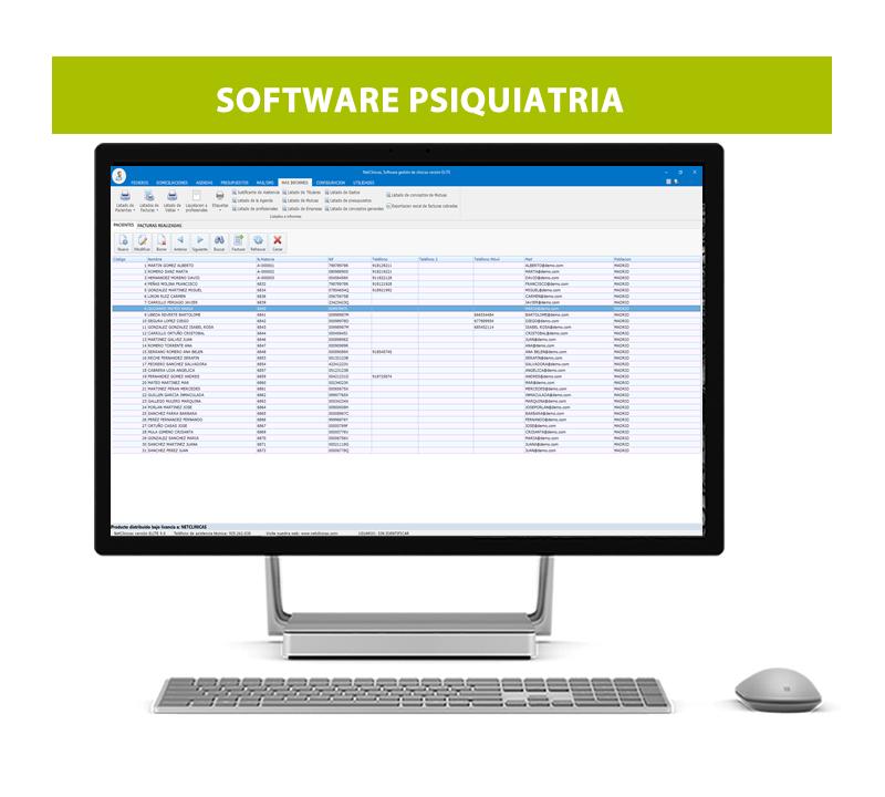 Software psiquiatras
